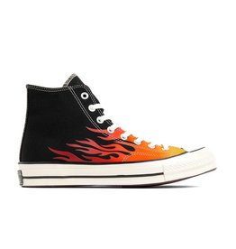 CONVERSE CHUCK 70 HI BLACK/ENAMEL RED/BLACK C970FIRE-165024C