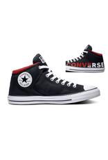 CONVERSE CHUCK TAYLOR ALL STAR HIGH STREET HI BLACK/WHITE/ENAMEL C998CON-165433C