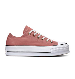 CONVERSE CHUCK TAYLOR ALL STAR LIFT OX LIGHT REDWOOD/WHITE/BLACK C13LER-564996C