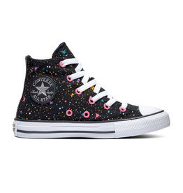 CONVERSE CHUCK TAYLOR ALL STAR HI BLACK/MOD PINK/WHITE CZMOD-665113C
