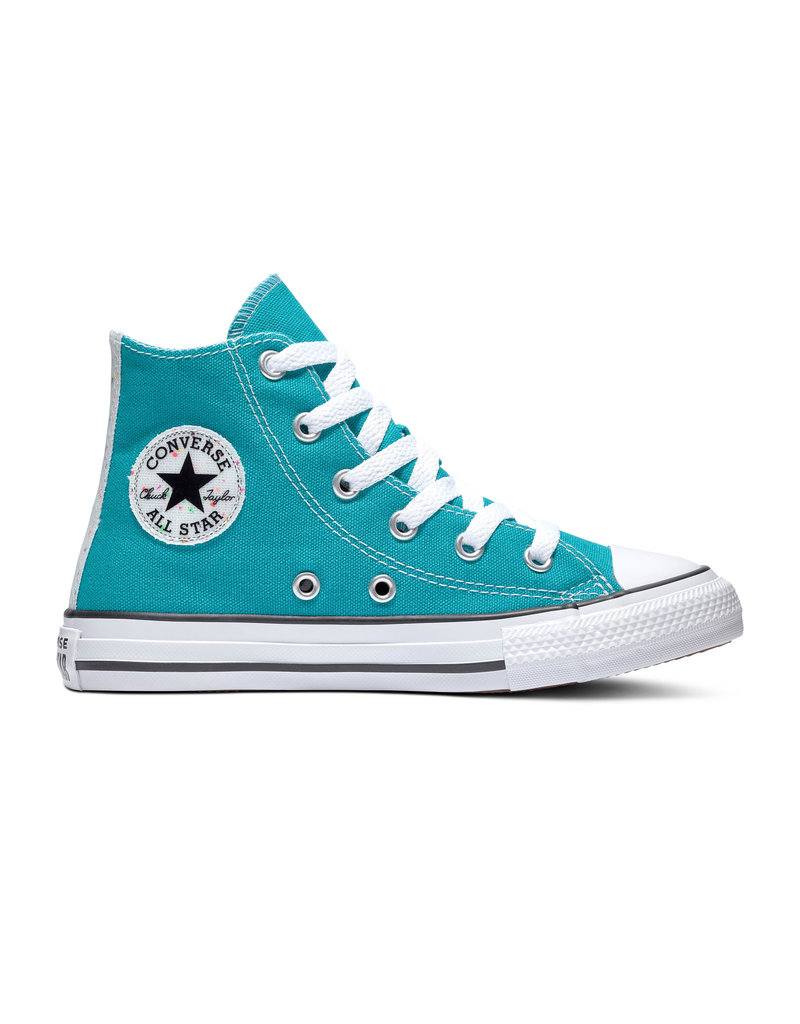 CONVERSE CHUCK TAYLOR ALL STAR HI TURBO GREEN/NATURAL IVORY CZTU-665120C