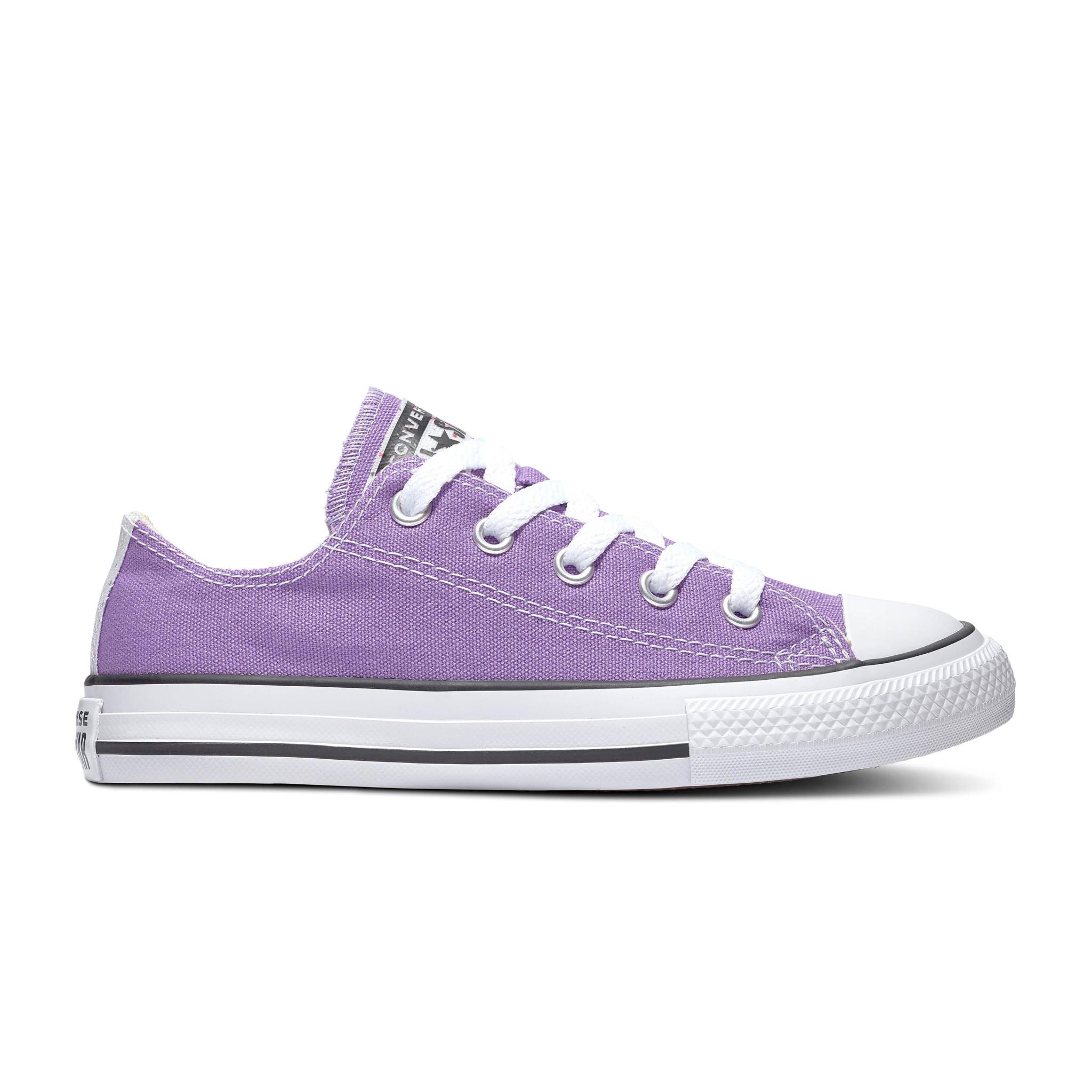 converse femme violette