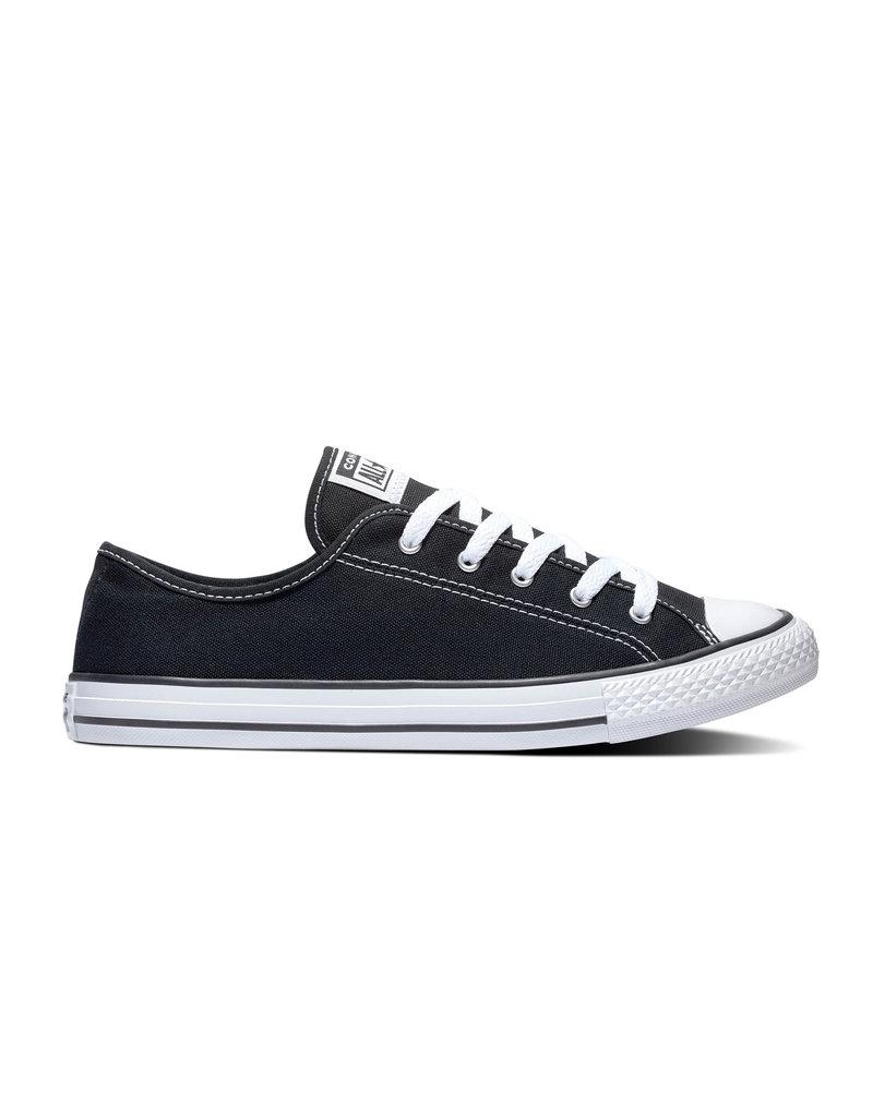 CONVERSE CHUCK TAYLOR ALL STAR DAINTY OX BLACK/WHITE/BLACK C940B-564982C