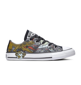 CONVERSE CHUCK TAYLOR ALL STAR OX COOL GREY/OLIVE FLAK/BLACK CZUFOX-665392C