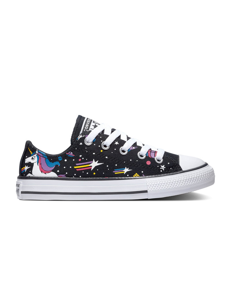 CONVERSE CHUCK TAYLOR ALL STAR OX BLACK/MOD PINK/WHITE CZUNIX-665474C