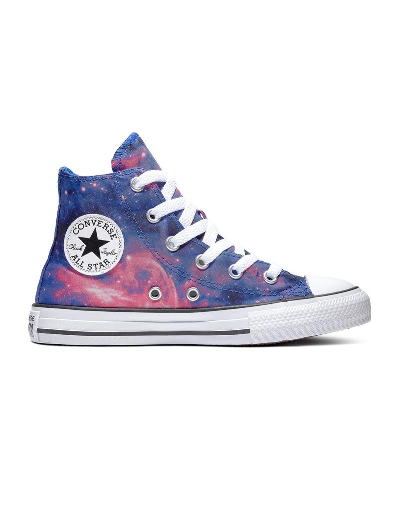 CONVERSE CHUCK TAYLOR ALL STAR HI HYPER ROYAL/MOD PINK/WHITE CZGAL-665400C