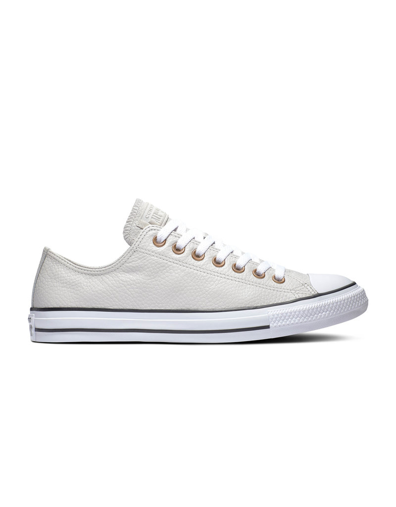 CONVERSE CHUCK TAYLOR ALL STAR OX PALE CUIR PUTTY/WHITE/BLACK CC13PP-165194C