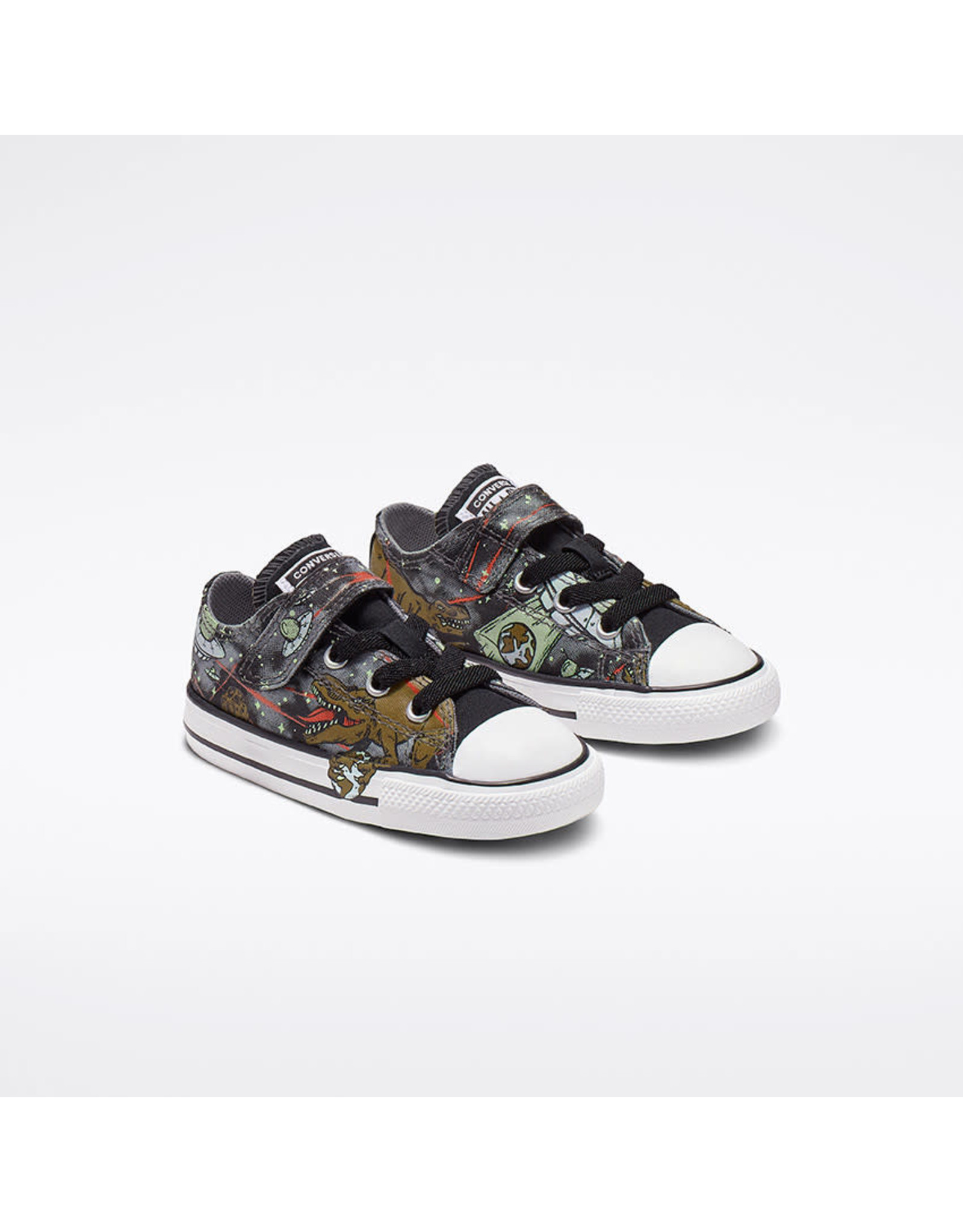 CONVERSE CHUCK TAYLOR ALL STAR 1V OX COOL GREY/OLIVE FLAK/BLACK CKUFX-765394C