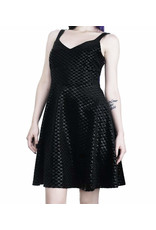 KILLSTAR - Black Sea Skater Dress