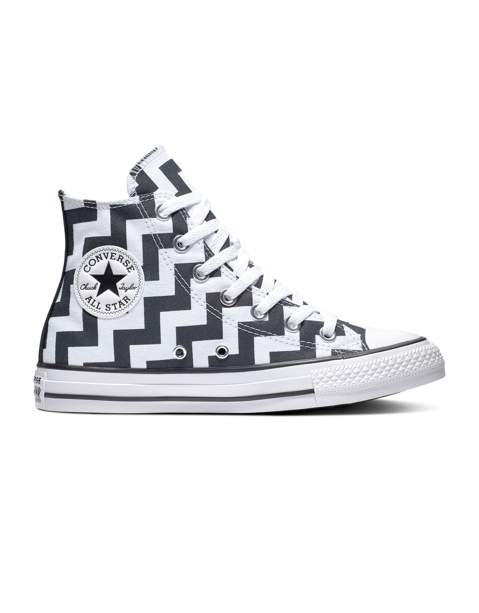 CONVERSE CHUCK TAYLOR ALL STAR HI WHITE/BLACK/WHITE C19SAW-565213C