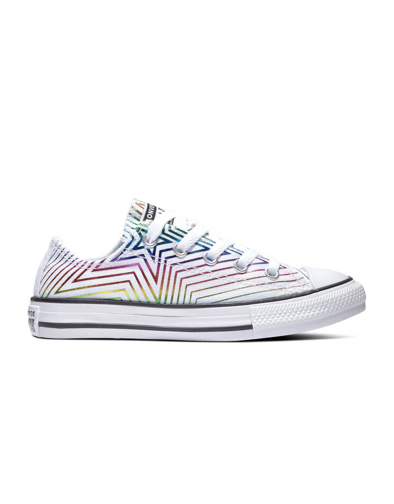 CONVERSE CHUCK TAYLOR ALL STAR OX WHITE/WHITE/BLACK CZSTAW-665398C