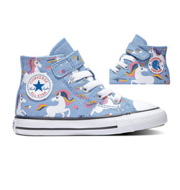 CONVERSE CHUCK TAYLOR ALL STAR 1V HI LIGHT BLUE/BLACK/WHITE CKUNI-765473C
