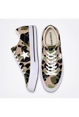 CONVERSE ONE STAR OX CANDIED GINGER/PIQUANT GREEN C987CAMO-165027C