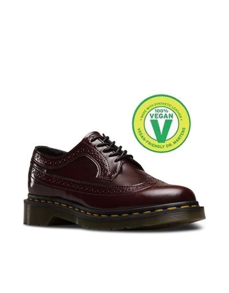 DR. MARTENS 3989 CHERRY RED CAMBRIDGE BRUSH 502VECA-R16153601