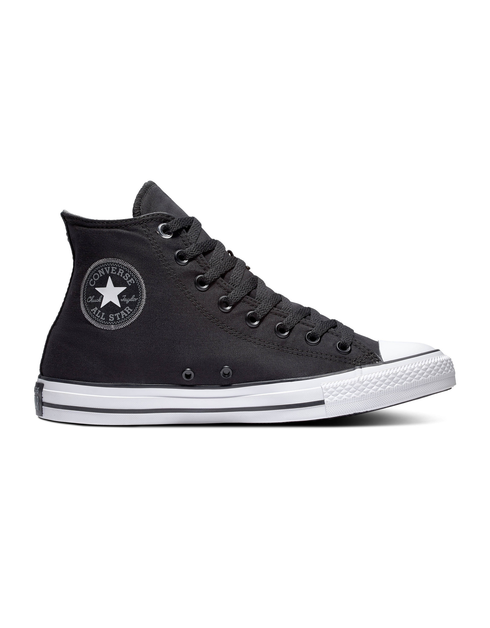 CONVERSE CHUCK TAYLOR ALL STAR HI BLACK/BLACK/WHITE C19B-164880C