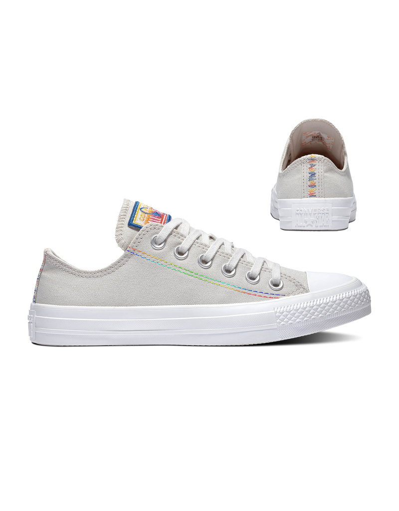 CONVERSE CHUCK TAYLOR ALL STAR OX PALE PUTTY/WHITE/HYPER ROYAL C13PAP-165428C