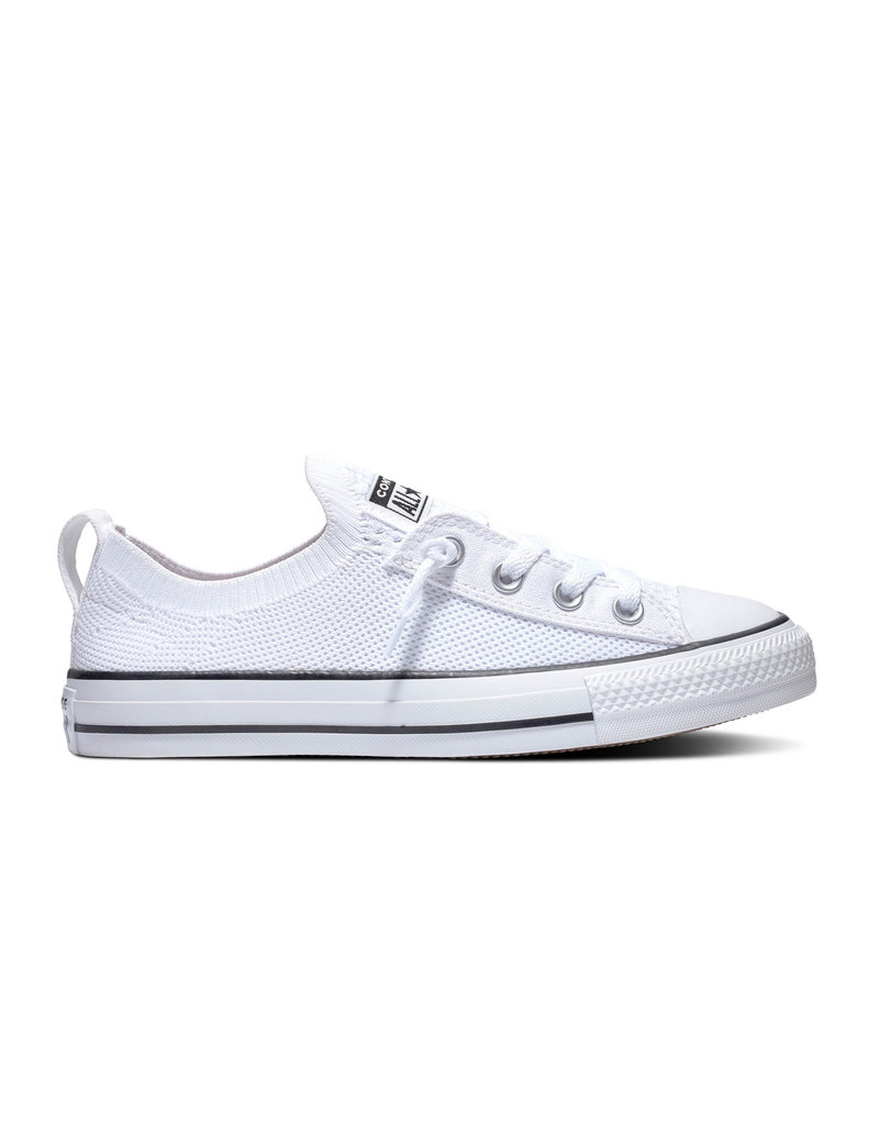 CONVERSE CHUCK TAYLOR ALL STAR SHORELINE KNIT SLIP WHITE/BLACK C13SSKW-565490C