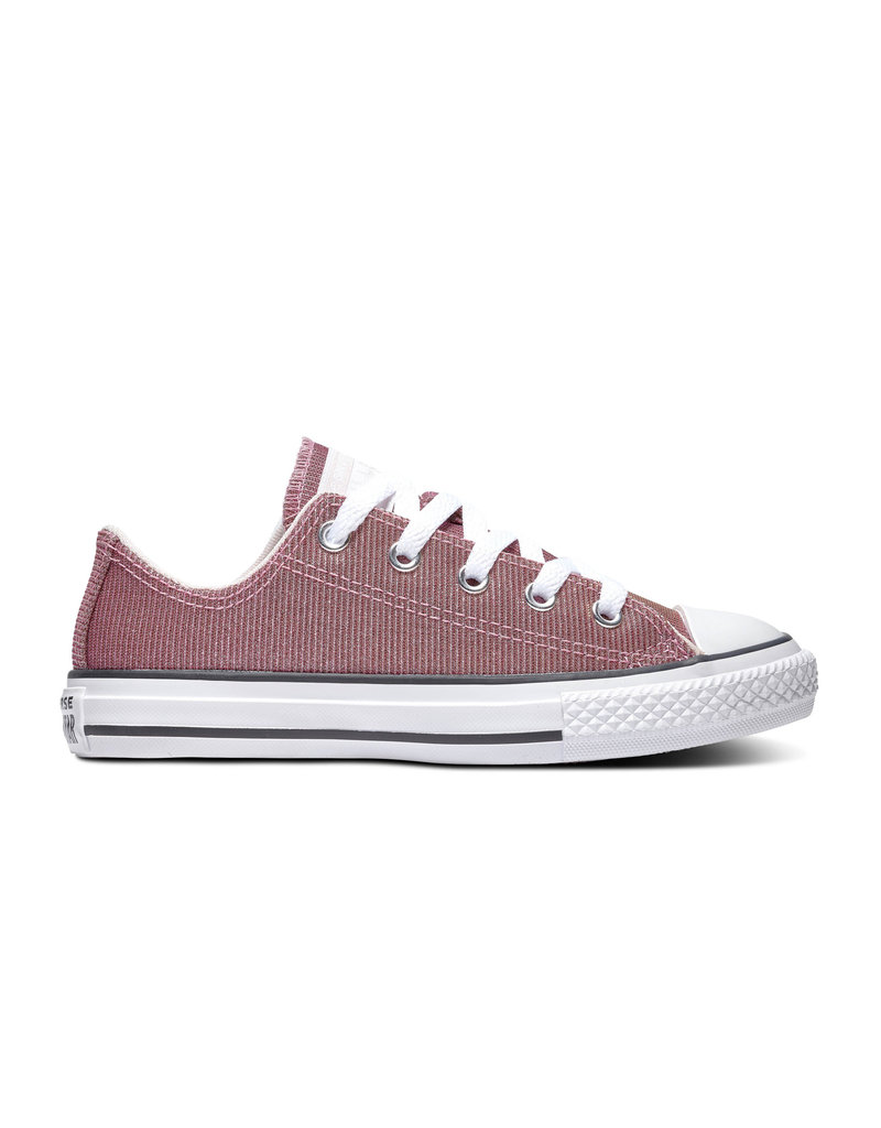 CONVERSE CHUCK TAYLOR ALL STAR OX BARELY ROSE/SILVER/WHITE CZBAS-665101C