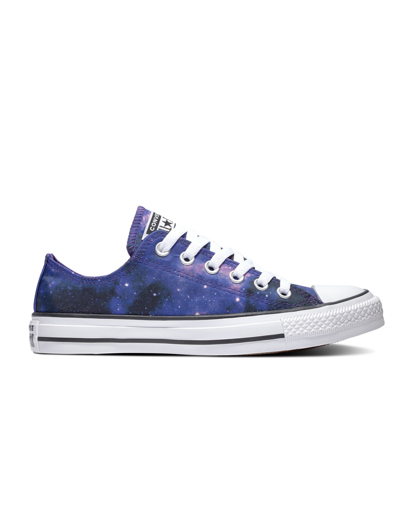 CONVERSE CHUCK TAYLOR ALL STAR OX BLACK/COURT PURPLE/WHITE C13GALP-565209C