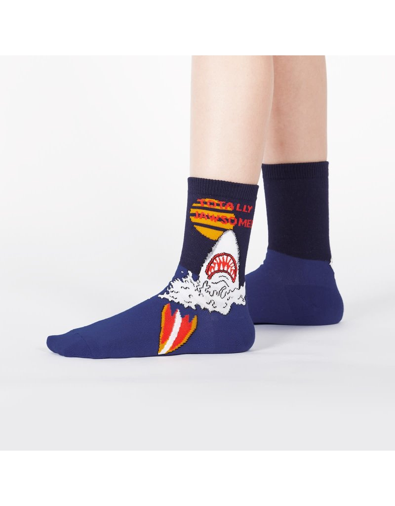 SOCK IT TO ME - Junior Totally Jawesome! Crew Socks