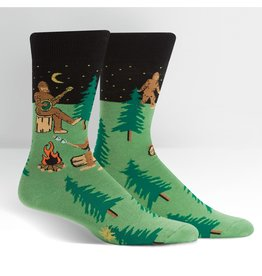 SOCK IT TO ME - Men's Sasquatch Camp Out Crew Socks