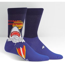SOCK IT TO ME - Men's Totally Jawsome Crew Socks