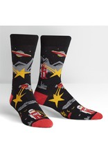 SOCK IT TO ME - Men's Zap! Zap! Crew Socks