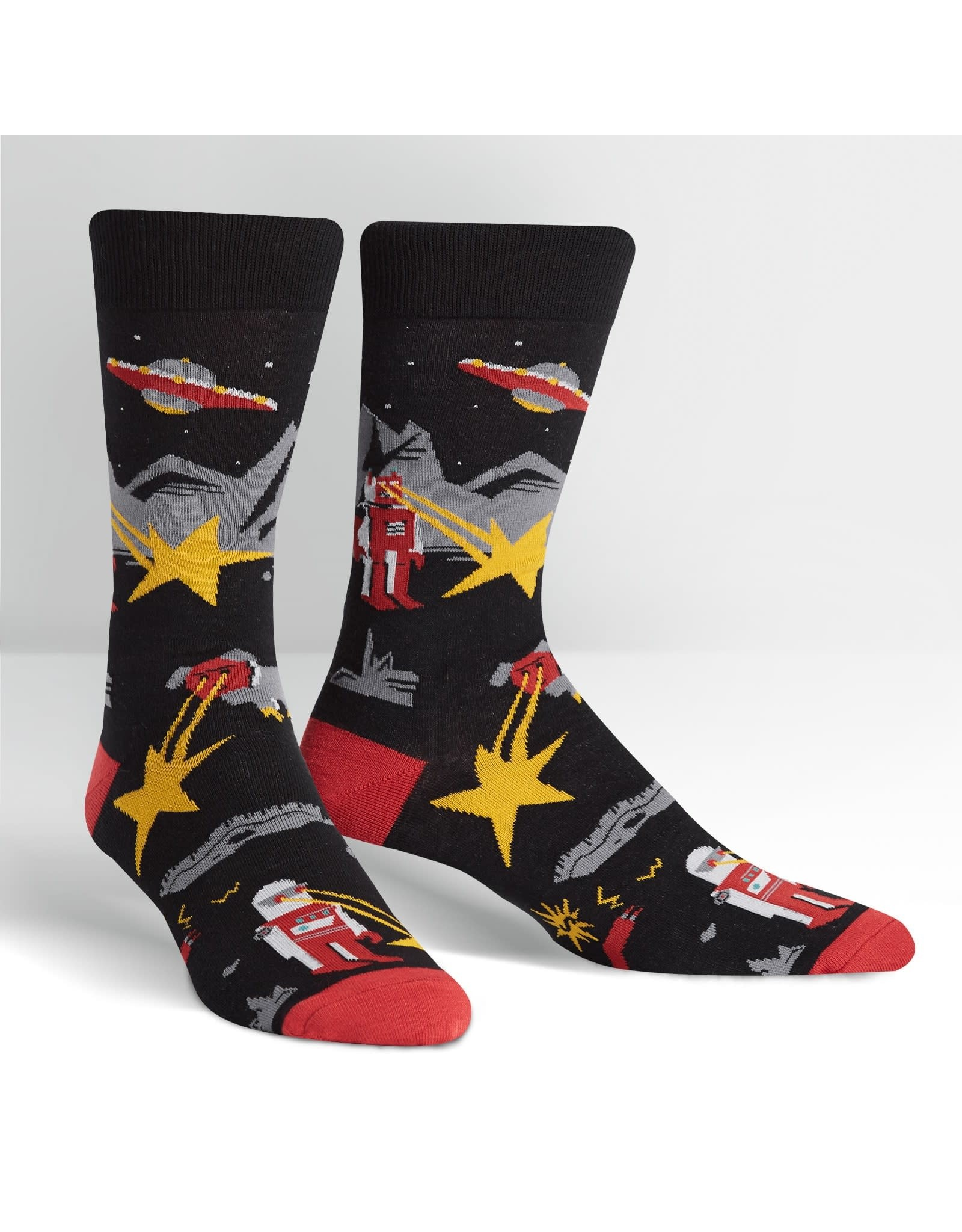 SOCK IT TO ME - Men's Zap! Zap! Crew Socks