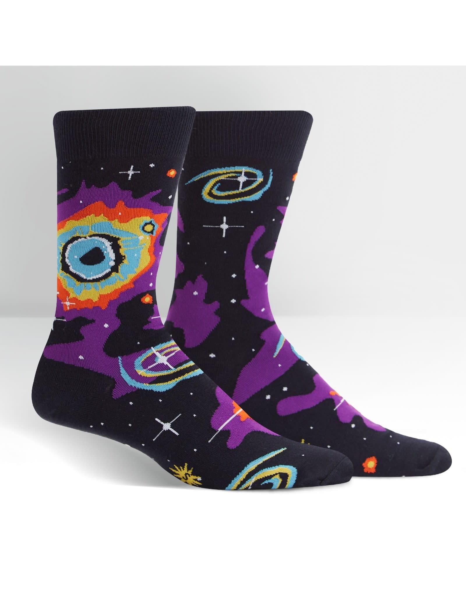 SOCK IT TO ME - Men's Helix Nebula Crew Socks