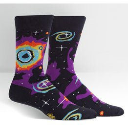 SOCK IT TO ME - Men's Helix Nebula Crew Socks