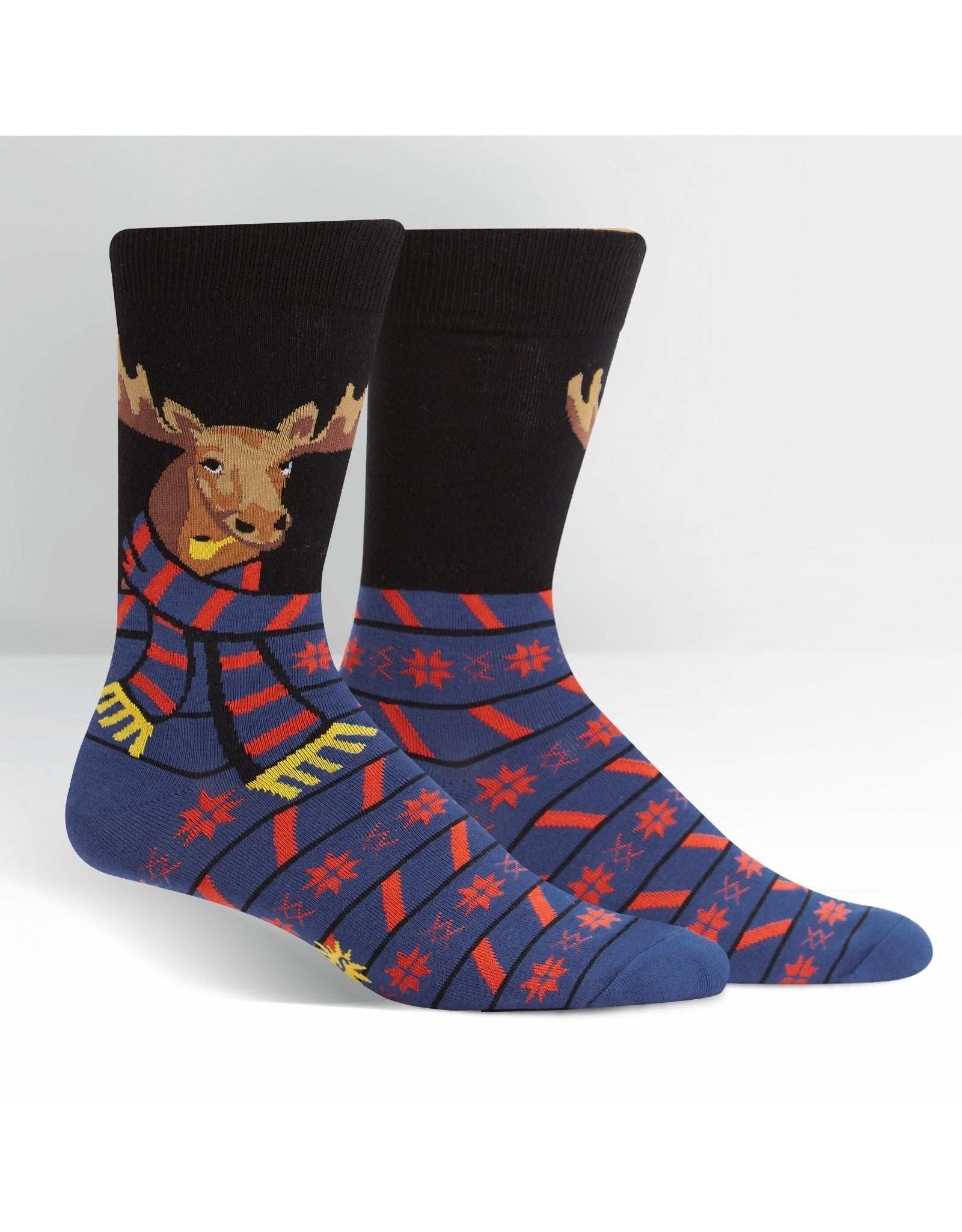 SOCK IT TO ME - Men's All Bundled Up Crew Socks