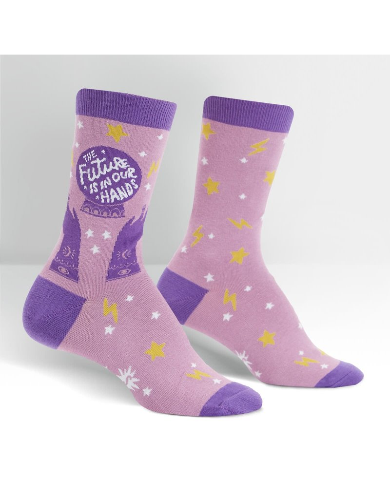 SOCK IT TO ME - Women's The Future Is In Our Hands Crew Socks