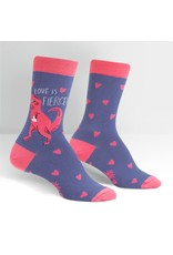SOCK IT TO ME - Women's Love Is Fierce Crew Socks