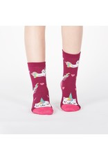 SOCK IT TO ME - Youth Look At Me Meow Crew Socks
