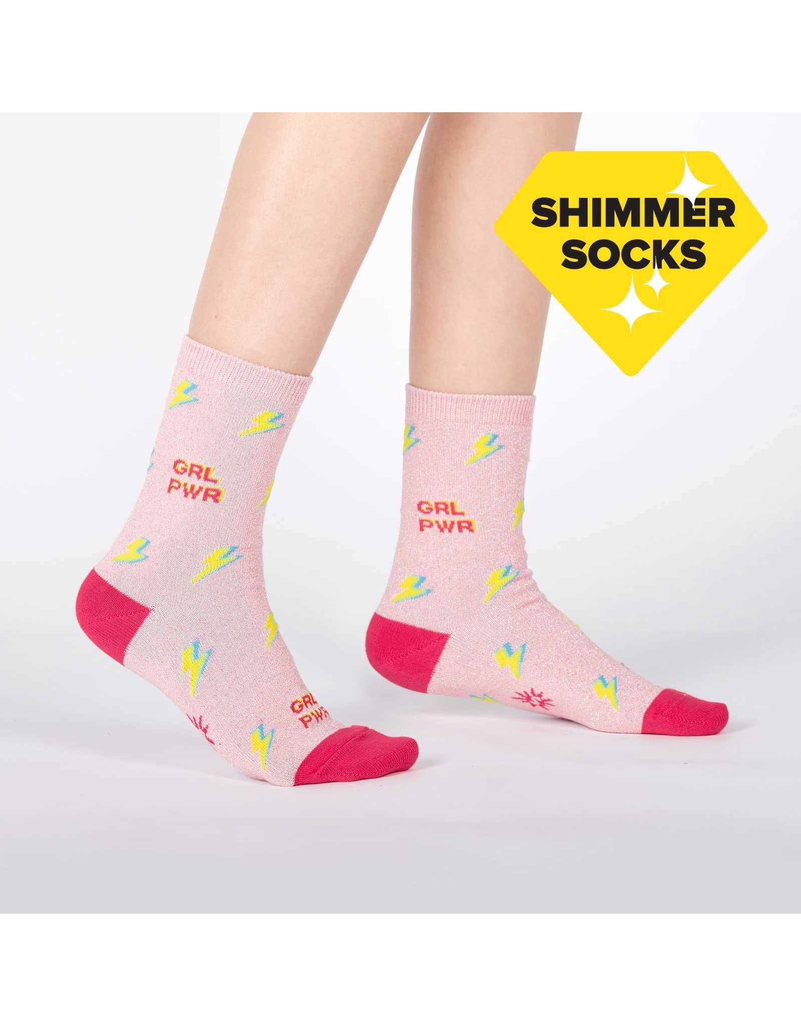 SOCK IT TO ME - Youth United We Shine (Lurex) Crew Socks