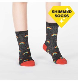 SOCK IT TO ME - Youth Glitter Over The Rainbow (Lurex) Crew Socks