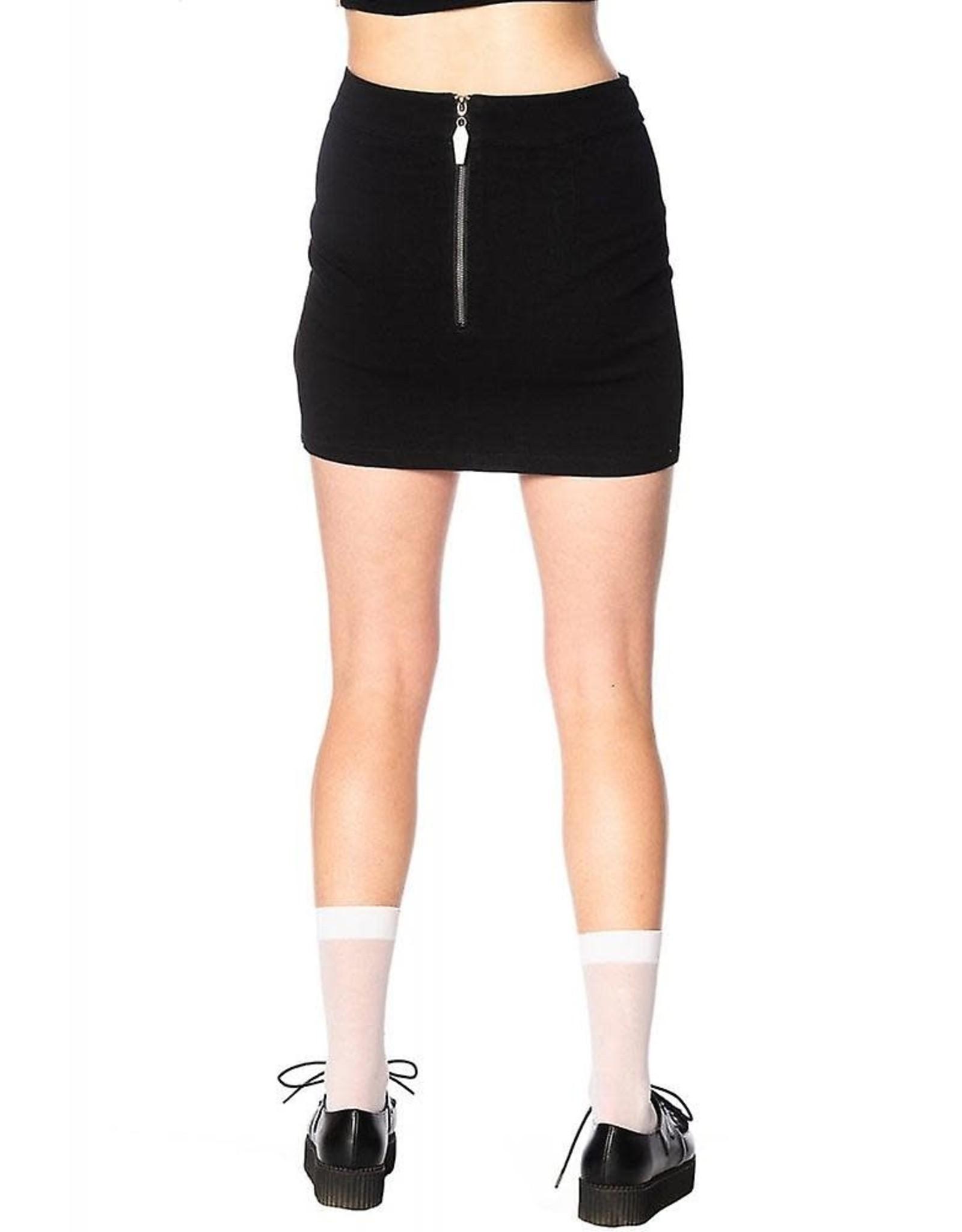 BANNED - O Ring Denim Skirt