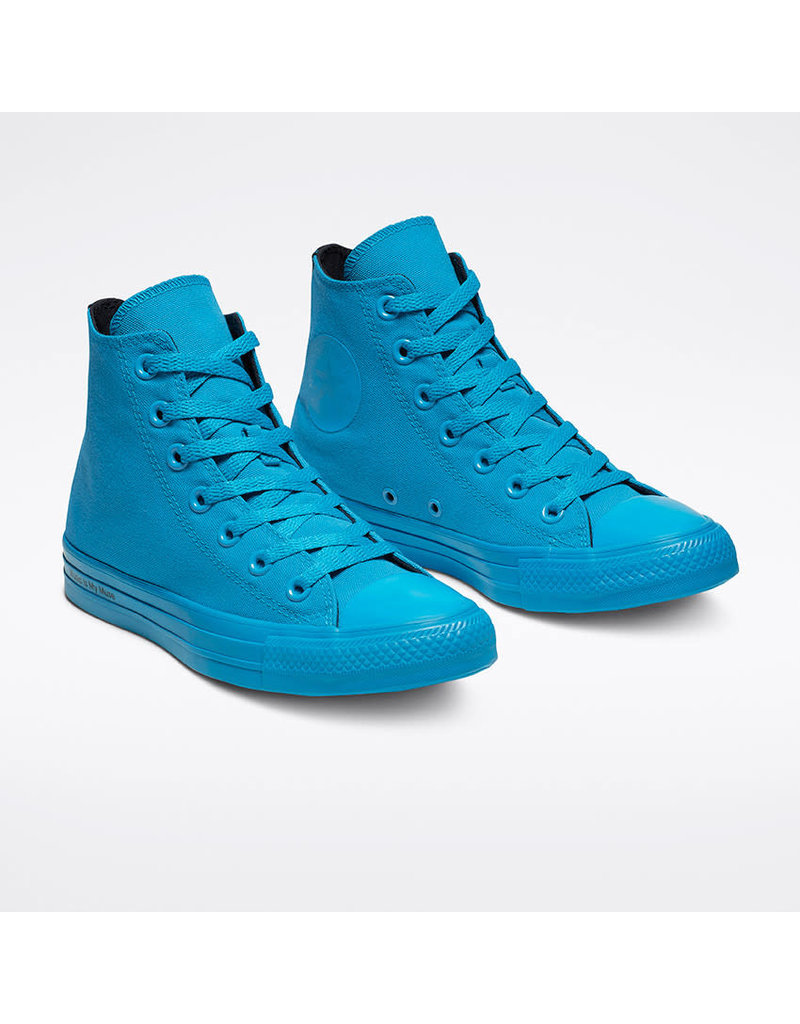 CONVERSE CT AS HI CYAN SPACE/BLACK/CYAN SPACE C19OCS-165659C