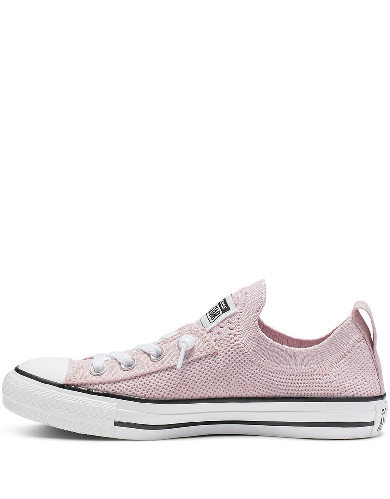 CONVERSE CHUCK TAYLOR ALL STAR SHORELINE KNIT SLIP BARELY ROSE C13SSKR-565487C