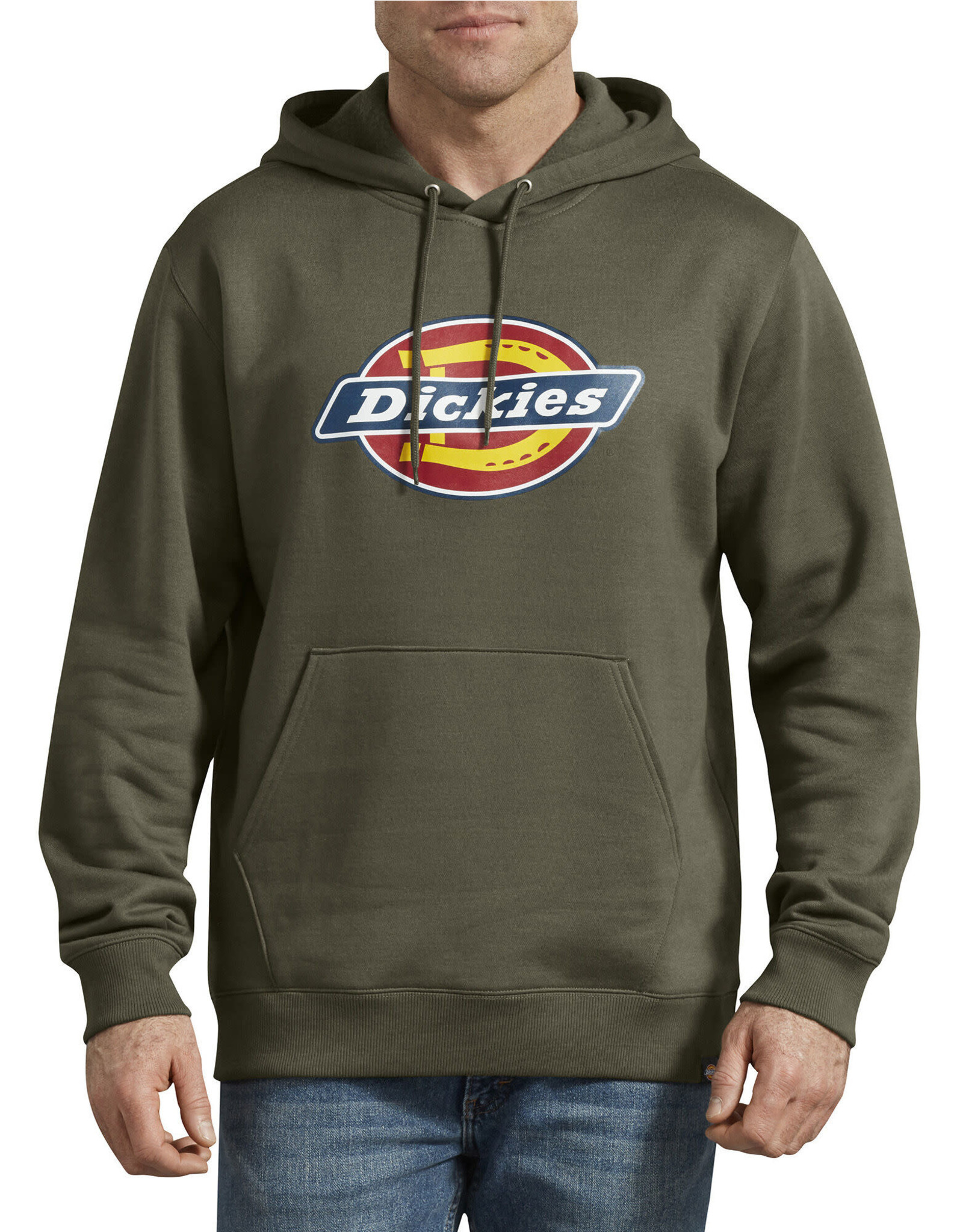 DICKIES Relaxed Fit Logo Fleece Hoodie TW45A