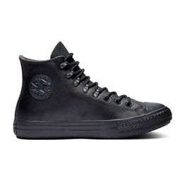 CONVERSE CHUCK TAYLOR ALL STAR WINTER HI LEATHER BLACK/BLACK/BLACK CC19MO-164923C