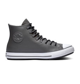 CONVERSE CHUCK TAYLOR ALL STAR WINTER HI LEATHER CARBON GREY/BLACK/WHITE CC19CG-164926C