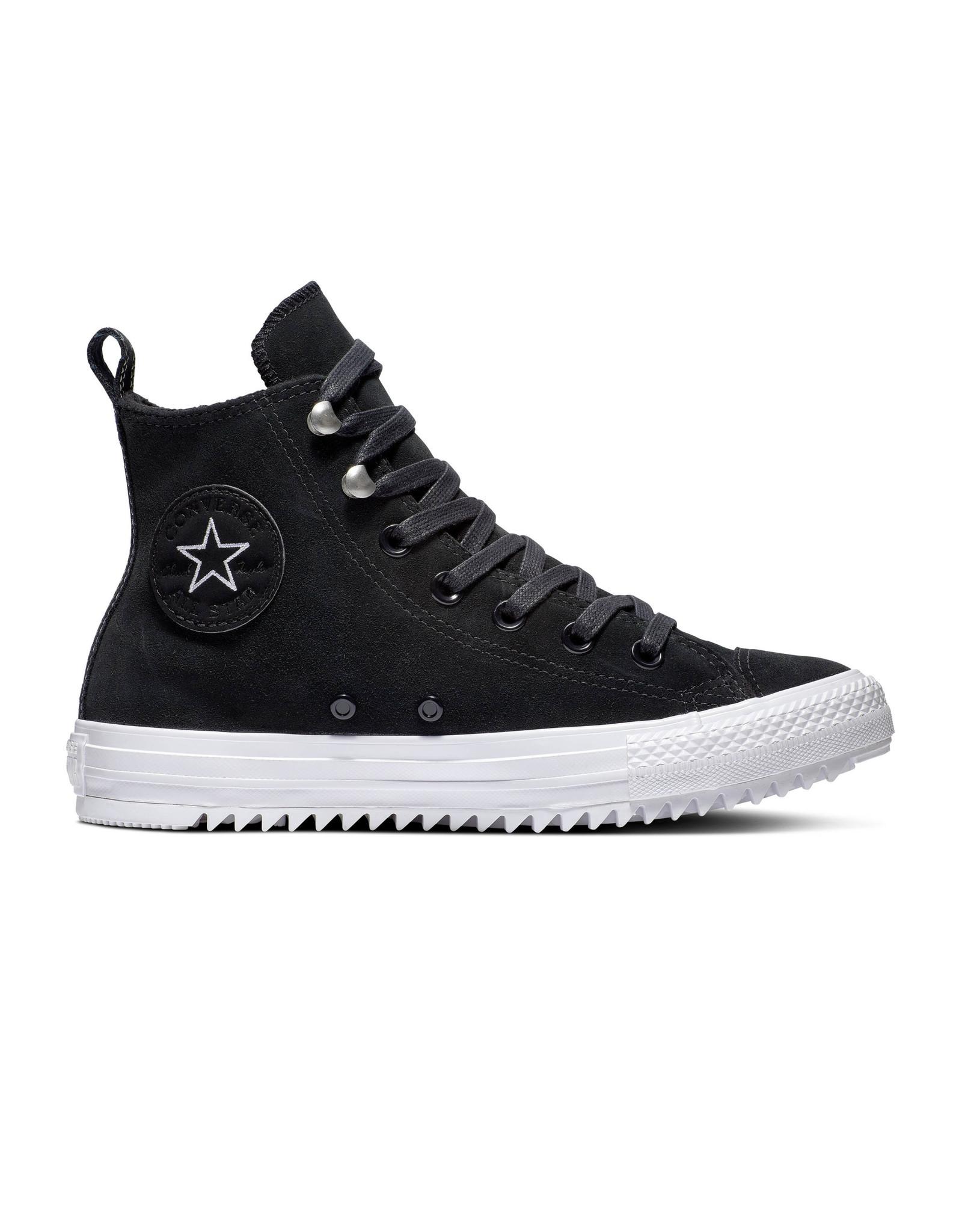 CONVERSE CHUCK TAYLOR ALL STAR HIKER HI CUIR BLACK/WHITE/BLACK CC19BW-565236C