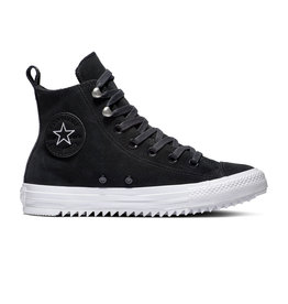 CONVERSE CHUCK TAYLOR ALL STAR HIKER HI LEATHER BLACK/WHITE/BLACK CC19BW-565236C