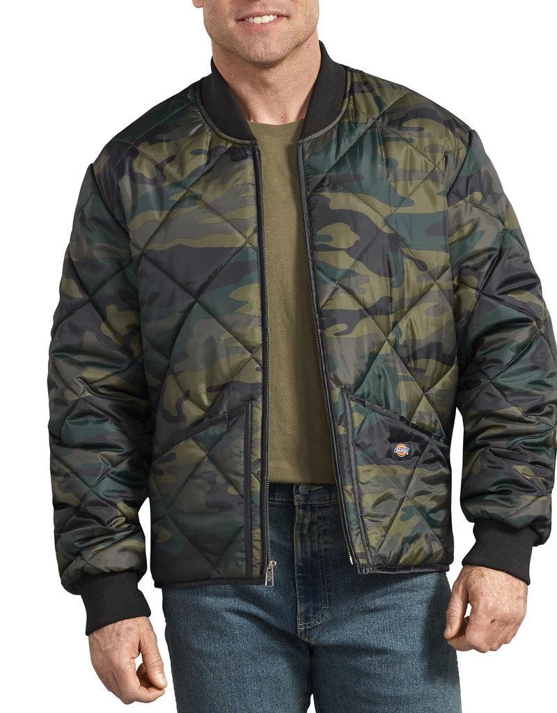 DICKIES Camo Diamond Quilted Jacket