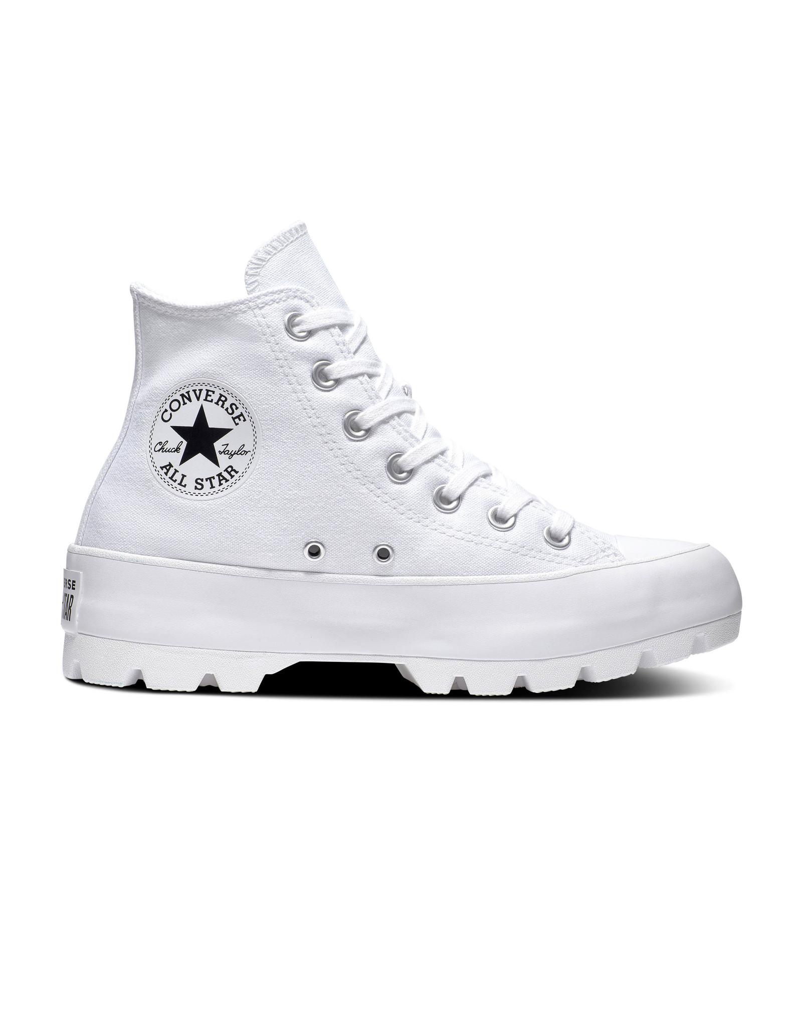 CONVERSE CHUCK TAYLOR ALL STAR LUGGED HI WHITE/BLACK/WHITE C994W-565902C
