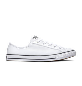 CONVERSE CHUCK TAYLOR ALL STAR DAINTY OX LEATHER WHITE/BLACK/WHITE CC940W-564984C