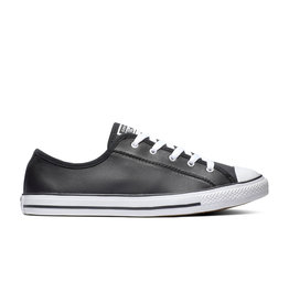 CONVERSE CHUCK TAYLOR ALL STAR DAINTY OX LEATHER BLACK/WHITE/WHITE CC940B-564985C