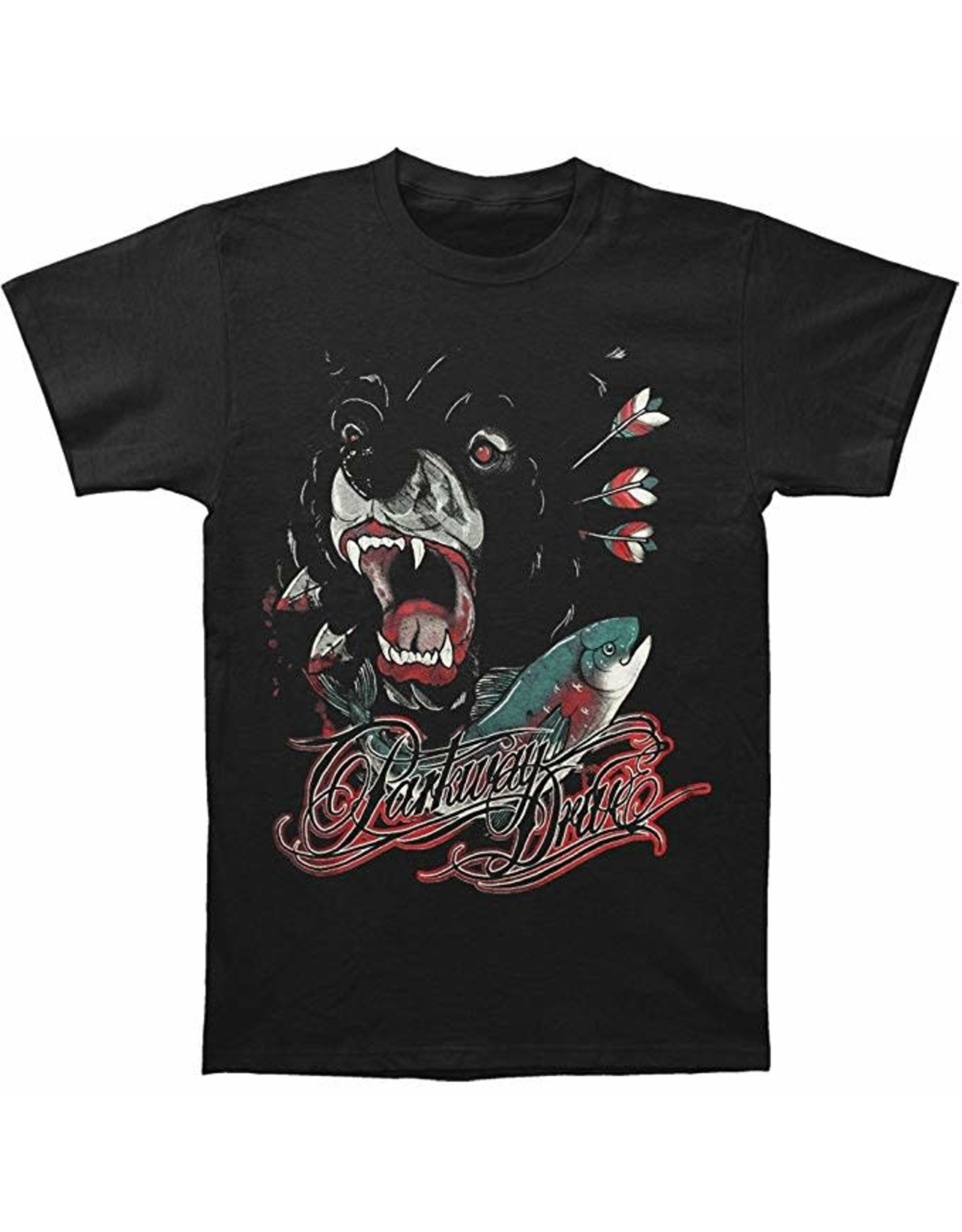 "Parkway Drive ""Bear and Salmon"" T-Shirt"