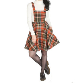 HELL BUNNY - Oktober Pinafore Dress